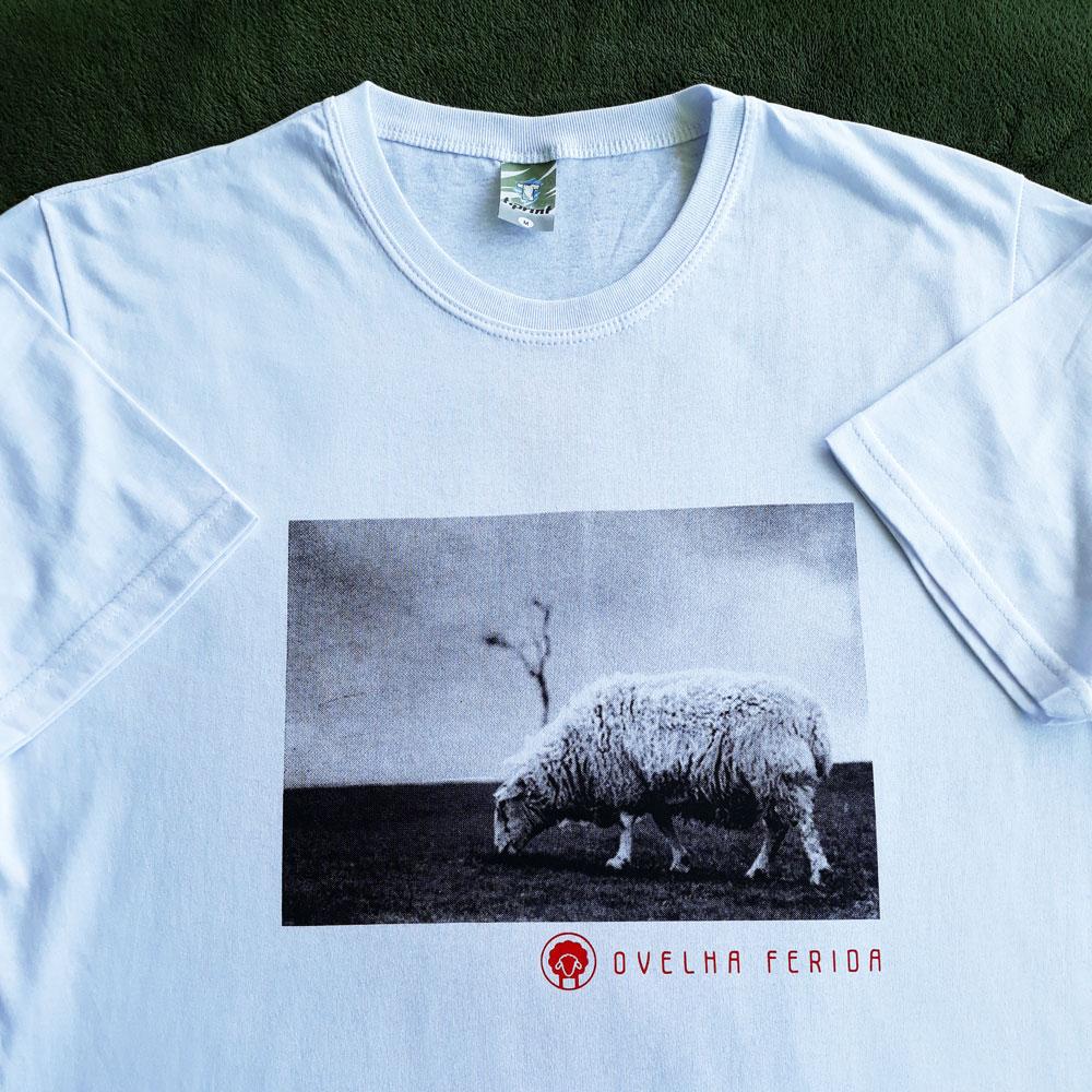 Camisa Ovelha Ferida Branca